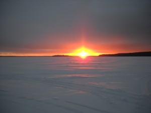 Minnesota Winter   Rainy Lake Houseboats